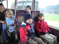 Das erste Highlight: die Busfahrt